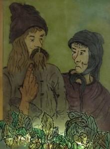 Das Paar - Gemälde von Juliane Köcke